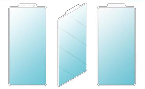 Ý tưởng smartphone mới được cấp bằng sáng chế của Samsung. Ảnh: LetsGoDigital.