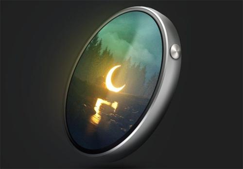 Ý tưởng iPhone Tau hình tròn - 1