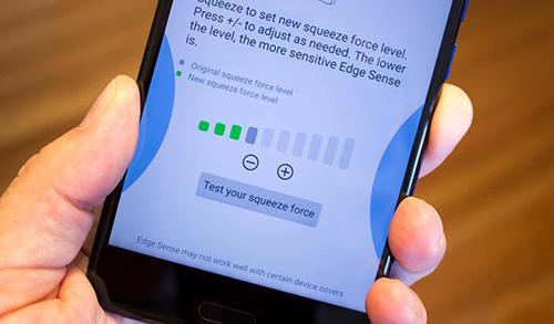 Phím bấm cảm ứng có thể thay thế phím vật lý trong tương lai. Ảnh: AH.