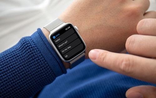 Nạn nhân đã nhanh trí gửi tin nhắn cầu cứu tới cho bạn trai bằng Apple Watch. Ảnh: Systweak