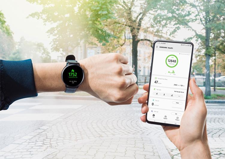 Cơ hội trúng Galaxy Watch Active2 với thử thách 6.000 bước một ngày - ảnh 1