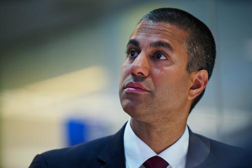 Chủ tịch FCC Ajit Pai. Ảnh: Bloomberg