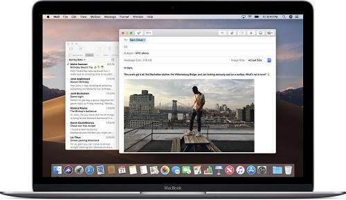 Ứng dụng Apple Mail trên MacBook. Ảnh: Apple