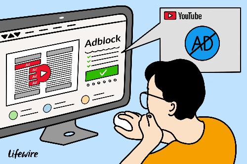 Việc người dùng sử dụng AdBlock có thể khiến YouTube mất doanh thu quảng cáo. Ảnh: Lifewire.