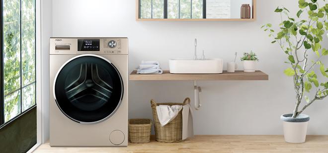 Những ưu điểm của máy giặt Aqua lồng lớn - ảnh 1
