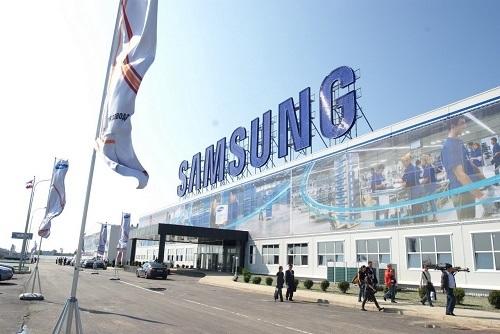 Quang cảnh bên ngoài nhà máy Samsung tại Huệ Châu (tỉnh Quảng Đông, Trung Quốc) trước khi đóng cửa vào tháng trước. Ảnh: Techweez