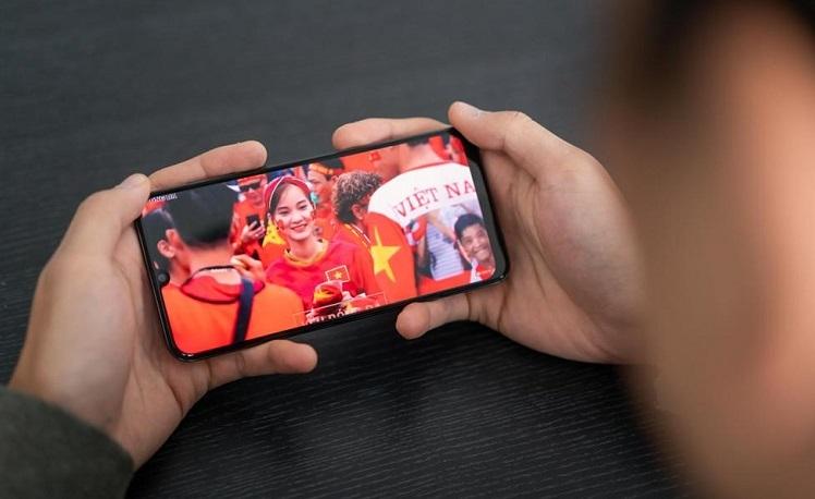 Trải nghiệm xem trận Việt Nam - Thái Lan trên Galaxy A50s - ảnh 2