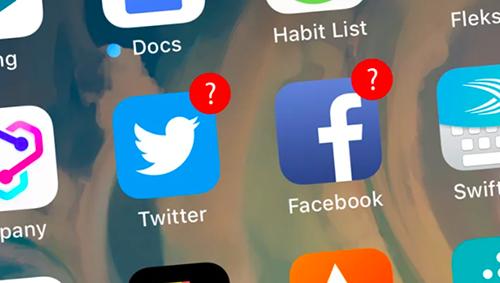 Cả Facebook và Twitter đang bị một số ứng dụng sử dụng cách đăng nhập bằng tài khoản để thu thập dữ liệu trái phép. Ảnh: Gizmodo.