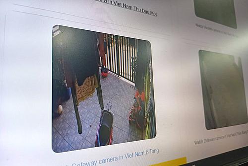 Nhiều camera bị chia sẻ hình ảnh lên mạng vì sự tắc trách của nhân viên lắp đặt.