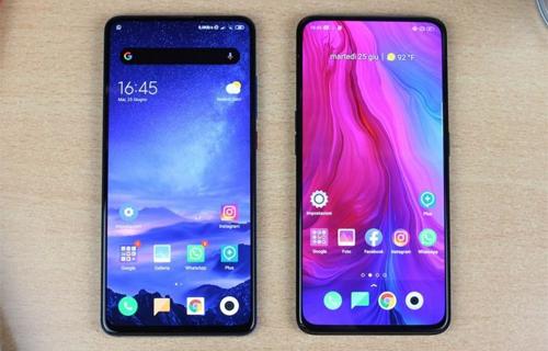 Oppo và Xiaomi có nhiều mẫu điện thoại được giới trẻ yêu thích. Ảnh: GizChina.
