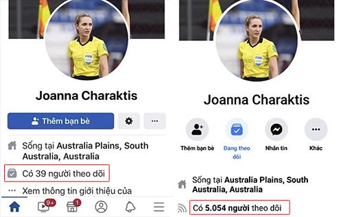 Tài khoản Joanna Kate Charaktis