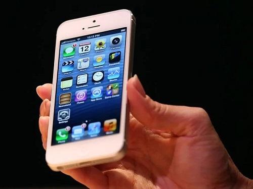 iPhone 5. Ảnh: Washington Post.