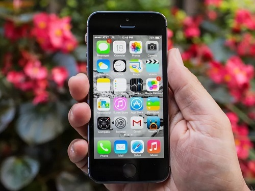 iPhone 5S. Ảnh: Cnet.