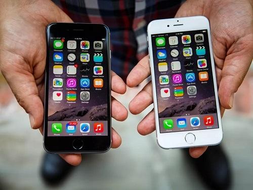 iPhone 6S và iPhone 6S Plus. Ảnh: Cnet.
