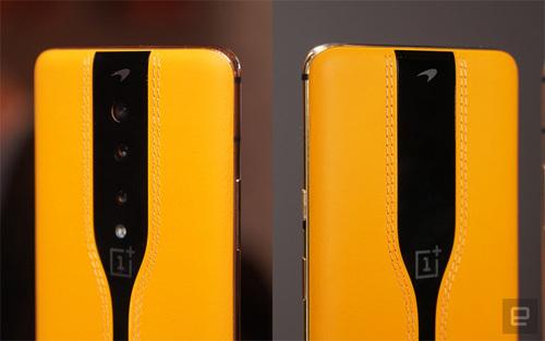 Các ống kính ẩn đi nhờ OnePlus sử dụng màng che. Ảnh: EnGadget.
