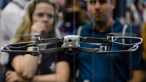 DJI đang là thương hiệu drone số một thế giới, chiếm 75% thị phần toàn cầu. Ảnh: Aljazeera.