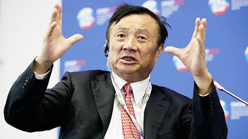 Sáng lập Huawei Nhậm Chính Phi. Ảnh: QZ.