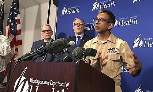 Mỹ thông tin về trường hợp nhiễm viêm phổi Vũ Hán đầu tiên. Ảnh: Carla K Johnson.