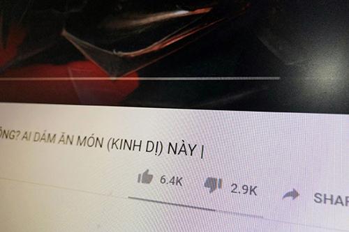 Video liên quan đến virus corona của YouTuber Việt nhận hàng ngàn lượt dislike.