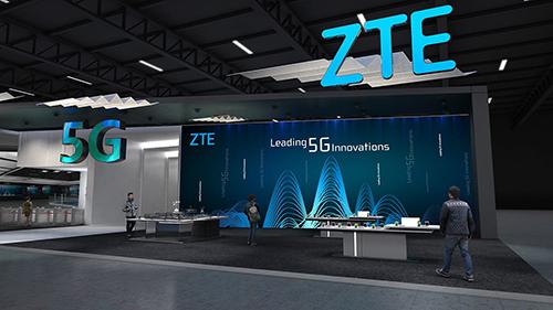 Một gian hàng của ZTE tại MWC. Ảnh: Techportal.