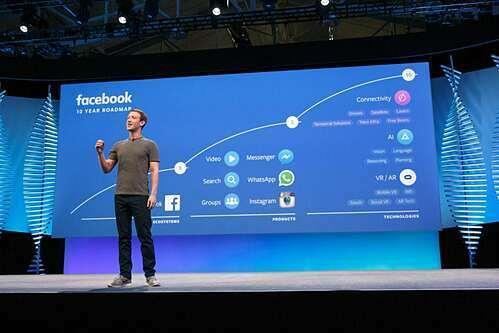 Hội nghị Facebook Global Marketing diễn ra giữa tháng 3 tại Mỹ bị huỷ vì lo ngại virus corona. Ảnh: Buffer.