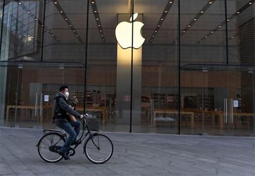 Apple Store tạm đóng cửa tại Trung Quốc trong tháng mộtvừa qua.