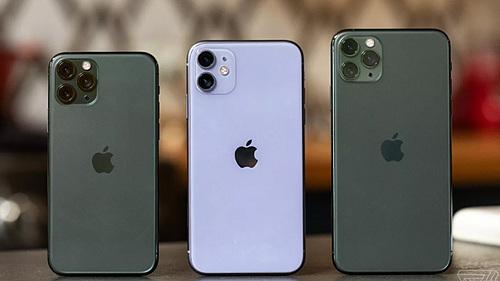 Giá bộ ba iPhone 11 chính hãng mỗi nơi một kiểu.