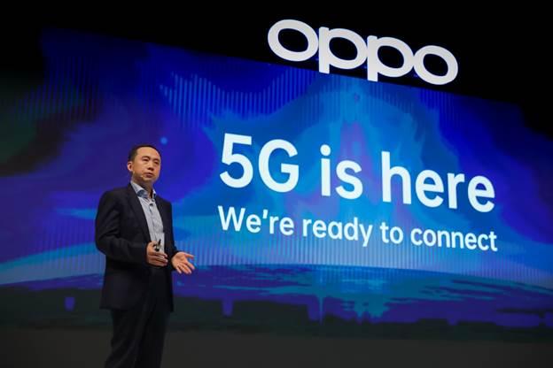 Oppo đầu tư 7 tỷ USD cho dự án 5G Landing Project.