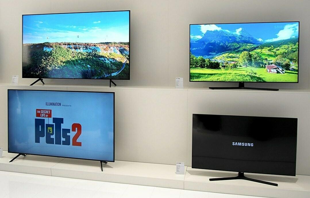 Dòng 4K 2020 của Samsung, TU7000, có giá 42,9 triệu đồng cho bản 75 inch.