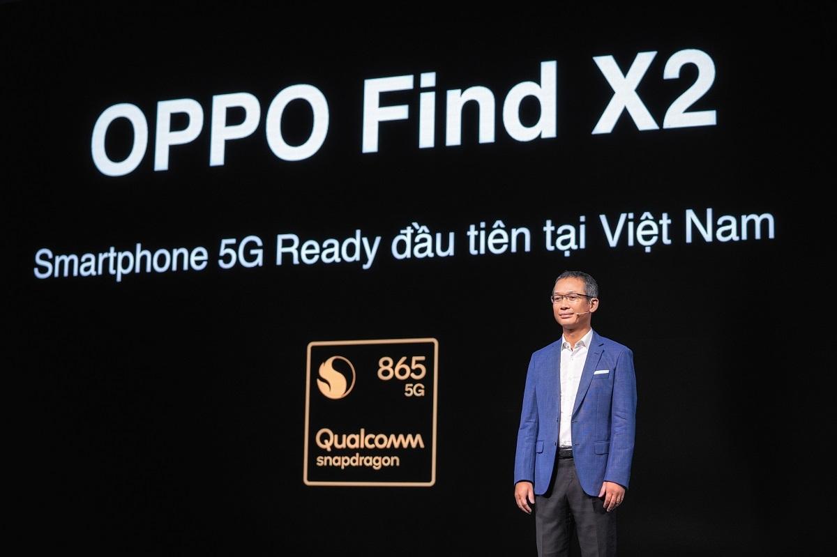 Oppo Find X2 là smartphone cao cấp đầu tiên tại thị trường Việt Nam sẵn sàng kết nối 5G