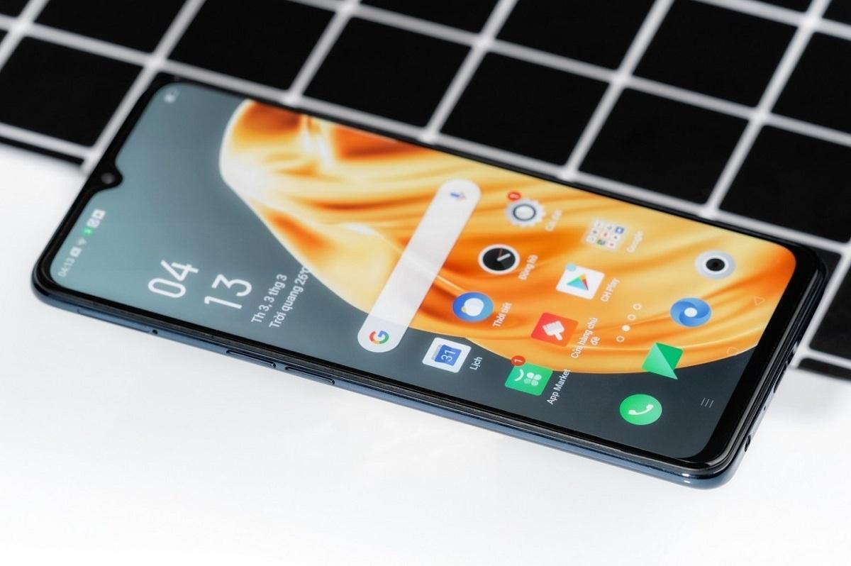 Tấm nền AMOLED 6,4 inch của Oppo A91 cho hình ảnh chất lượng cao, hình ảnh sắc nét và màu sắc sống động.