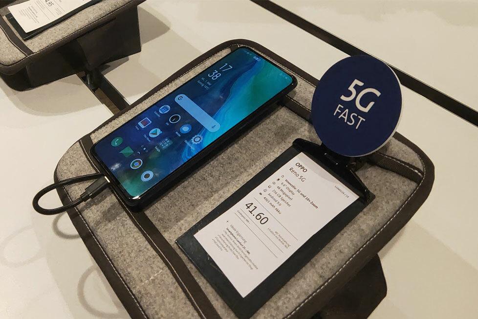 Oppolà một trong những nhà sản xuất smartphone tiên phong trong kỷ nguyên công nghệ 5G