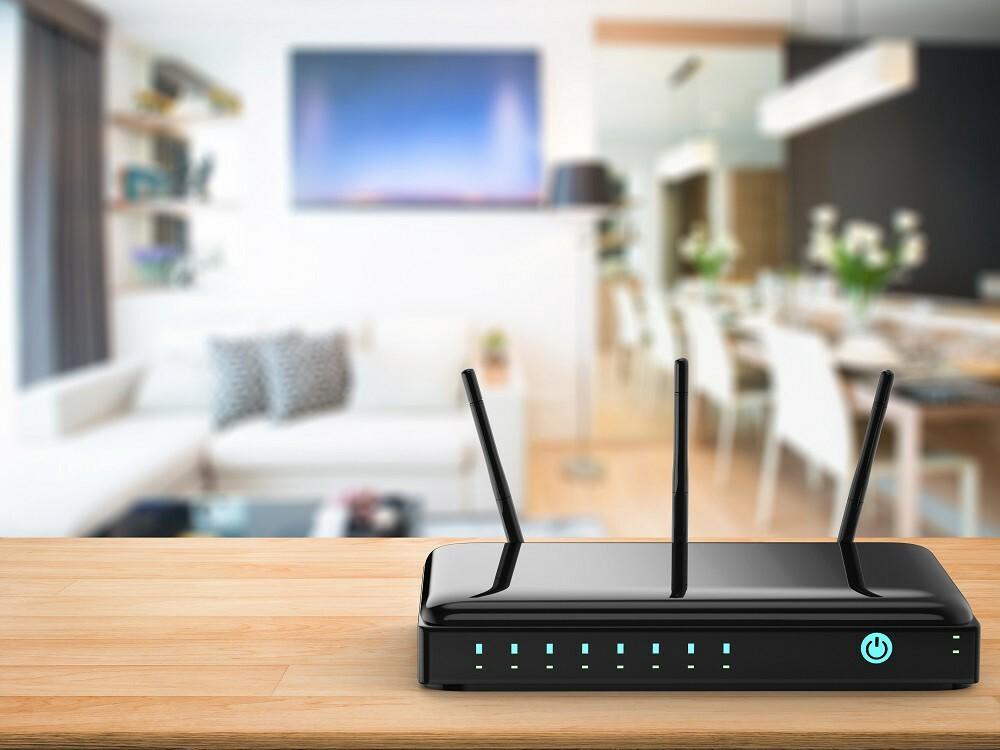 Bộ phát Wi-Fi nên được đặt ở vị trí trung tâm, gần các thiết bị kết nối. Ảnh: Phonlamai.