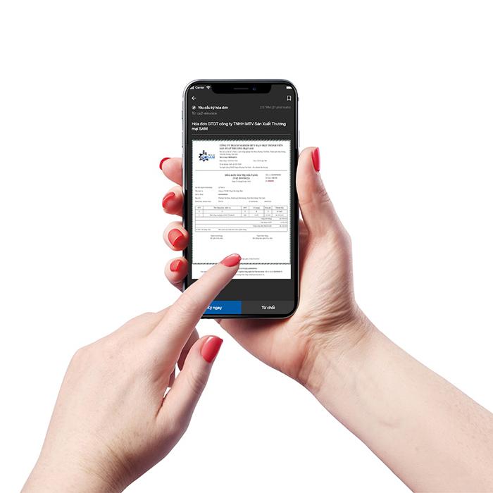 Dịch vụ chữ ký số qua di động Mobile Signing ra mắt - ảnh 2
