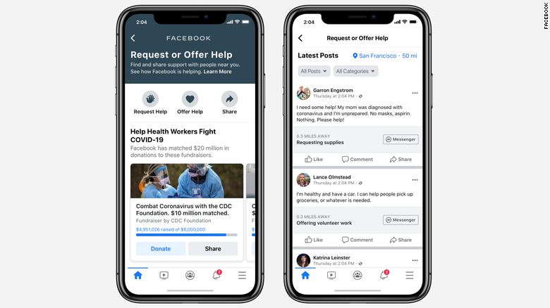 Facebook sẽ sớm cập nhật tính năng Trợ giúp cộng đồng đến người dùng toàn cầu trong thời gian tới.