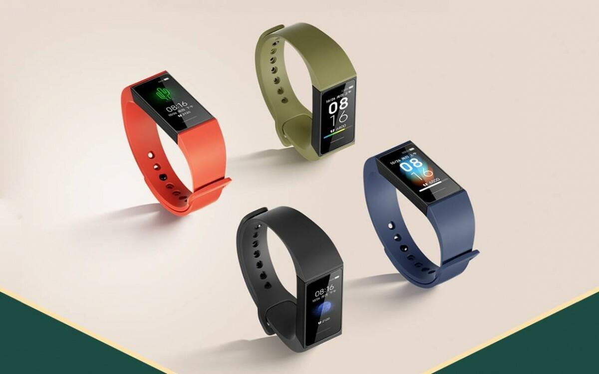 Redmi Band có thể theo dõi sức khoẻ, đo nhịp tim và nhận thông báo từ smartphone. Ảnh: GSMArena.