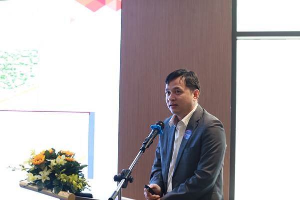 Ông Lâm Nguyễn Hải Long - Giám đốc Công viên phần mềm Quang Trung