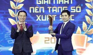 Hai giải pháp số của FPT giành giải thưởng Make in Viet Nam