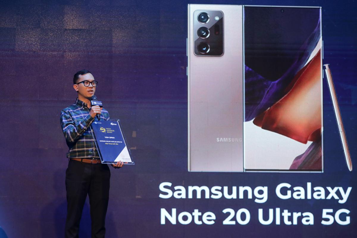 Samsung và VinSmart thắng lớn tại Tech Awards 2020