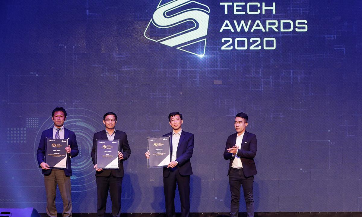 3 giải thưởng đặc biệt tại Tech Awards 2020